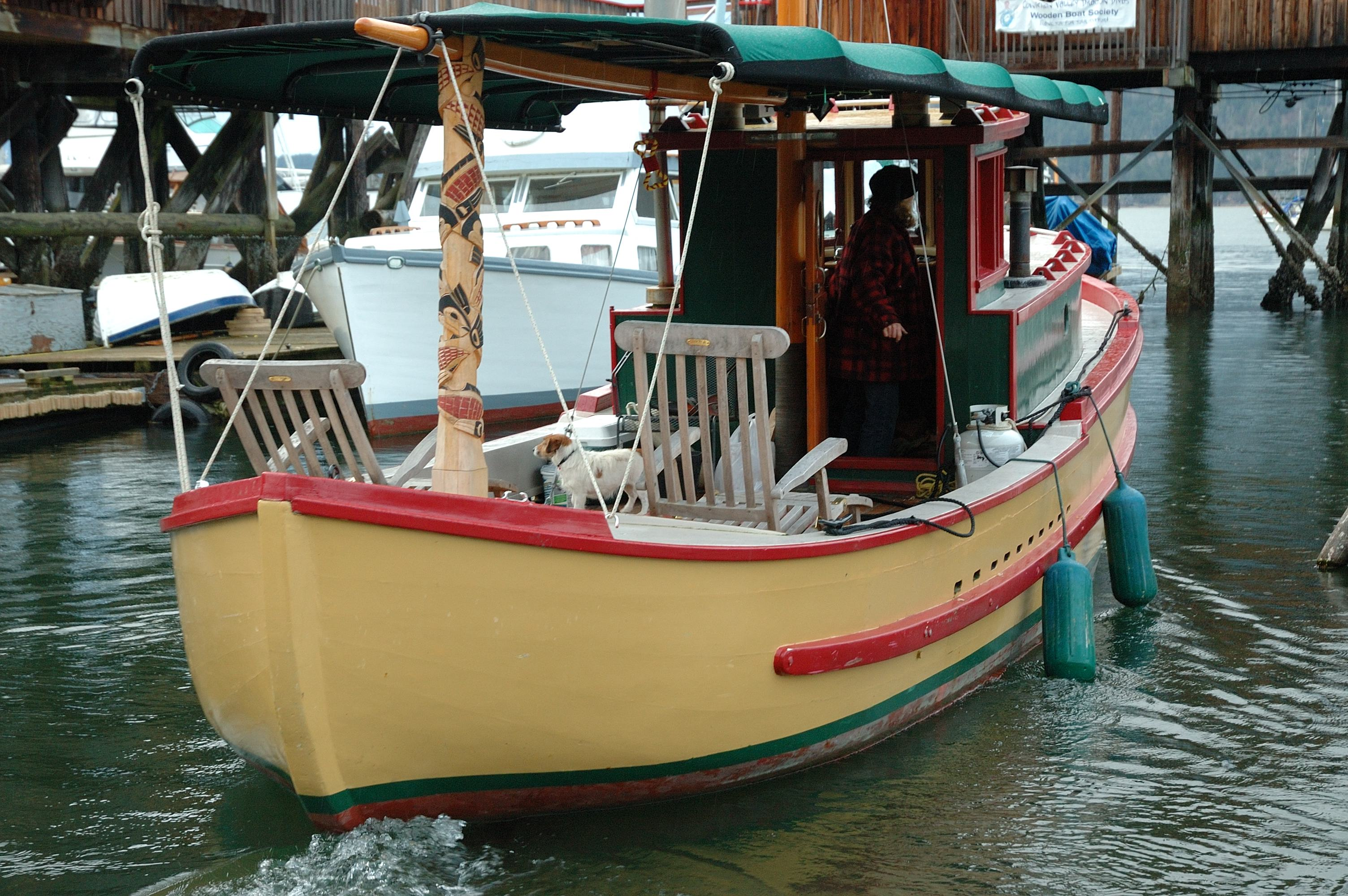 Cowichan Bay Wooden Boat Society Pacific Wooden Boats