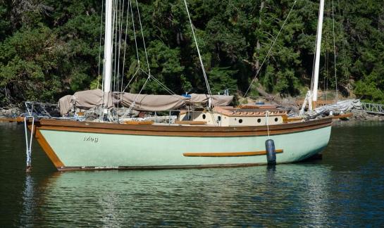 Meg, Lyall Harbour, Saturna Island, BC.