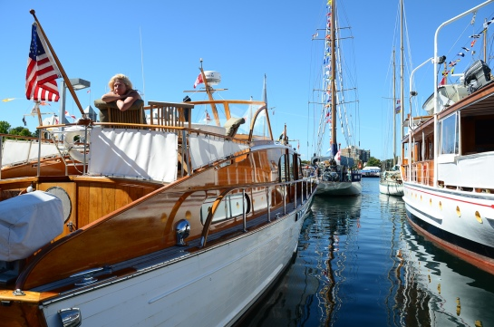 The Classic Boat Festival in Victoria was a great opportunity to experience the beauty of wooden boats.